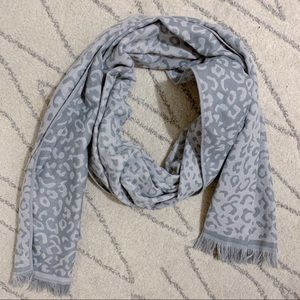 Nordstrom Leopard Double Sided Scarf